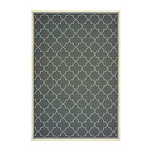Gray Zara Outdoor Area Rug, 5x7