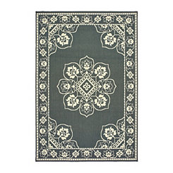 Gray Kinsley Outdoor Area Rug, 7x10