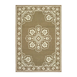 Tan Kinsley Outdoor Area Rug, 5x7