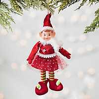 Pixie Elf Girl Ornament