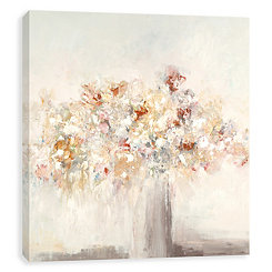 Delicate Display Hand Embellished Canvas Art Print