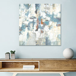 Layers of Yesterday Embellished Canvas Art Print