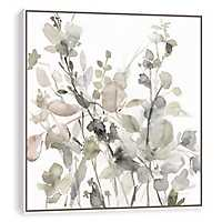 Sage Garden Hand Embellishment Framed Art Print