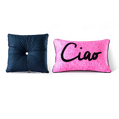 Santa Monica Throw Pillows, Set of 2