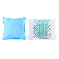 Sun Dial Throw Pillows, Set of 2