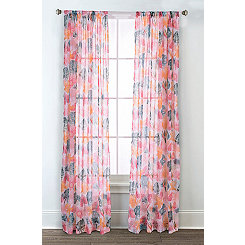 Calypso Printed Curtain Panel Set, 84 in.