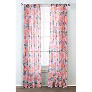 Calypso Printed Curtain Panel Set, 95 in.
