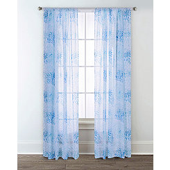 Sun Dial Printed Curtain Panel Set, 84 in.