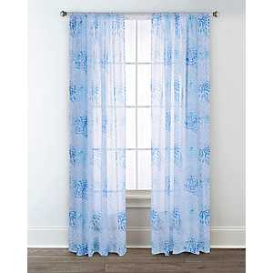 Sun Dial Printed Curtain Panel Set, 95 in.