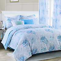 Blue Sundial King 4-pc. Comforter Set