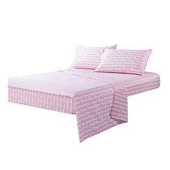 Pink Calypso Full 4-pc. Sheet Set