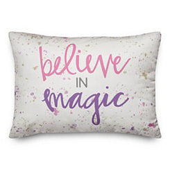 Believe in Magic Pillow