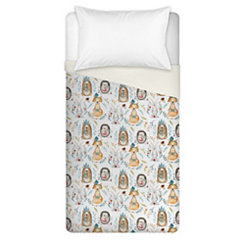Whimsical Woodland Animal Twin Duvet