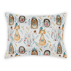 Whimsical Woodland Animal Standard Sham