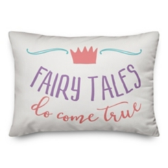 Fairy Tales Come True Pillow