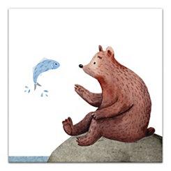 Wildlife Friends Canvas Art Print