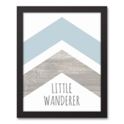 Little Wanderer Framed Art Print