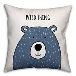 Wild Thing Bear Pillow