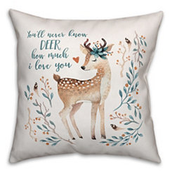Deer Love Pillow