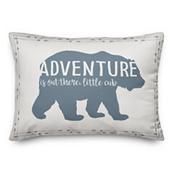 Little Cub Adventure Pillow