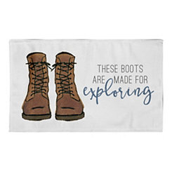 These Boots Are Made for Exploring Accent Rug, 3x5