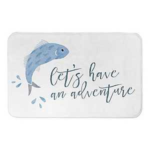 Adventure Fish Bath Mat
