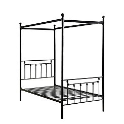 Canopy Metal Twin Platform Bed