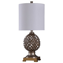 Diamond Cut Gala Table Lamp