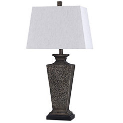 Bossier Gray Table Lamp