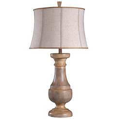 Natural Balustrade Table Lamp