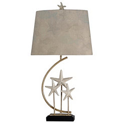 Starfish Trio Table Lamp