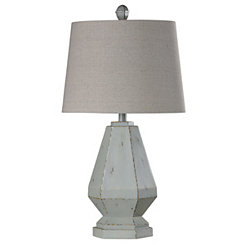 Blue Sky Diamond Table Lamp