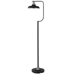 Black Metal Retro Floor Lamp