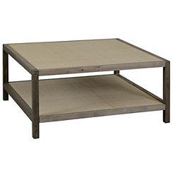 Julian Driftwood Gray Coffee Table