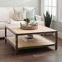 Julian Driftwood Gray Coffee Table