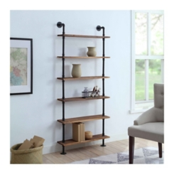 Annalee 6-Tier Industrial Piping Shelf