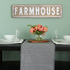 Farmhouse Wood Wall Plaque