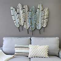 Boho Feather Wall Plaque