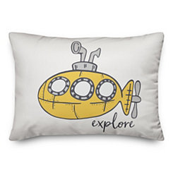Yellow Submarine Pillow