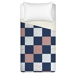 Nautical Check Twin Duvet