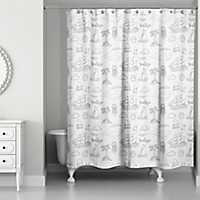 Sentiments of the Sea Shower Curtain