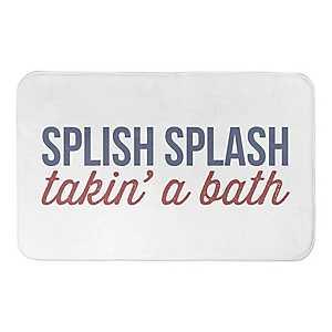 Splish Splash Nautical Bath Mat