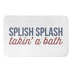 Splish Splash Nautical Bath Mat
