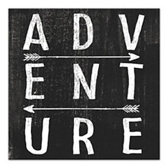 Adventure Arrows Canvas Art Print
