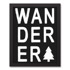Wanderer Tree Framed Art Print