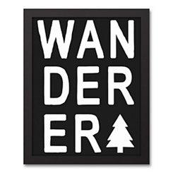 Wanderer Tree Framed Art Print