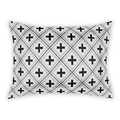 Swiss Criss Cross White Standard Sham