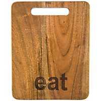 Eat Acacia Wood Cutting Board