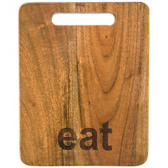 Eat Acacia Wood Cutting Board