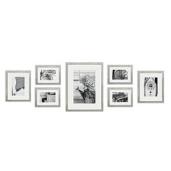 Gray Wash 7-pc. Gallery Wall Picture Frame Set